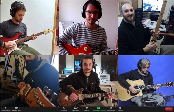 webinar di chitarra online